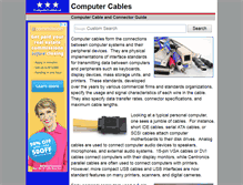 Tablet Preview of computercables.us